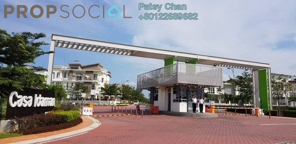 Semi-Detached For Sale in CasaIdaman, Setia Alam Freehold Unfurnished 5R/7B 2.88m