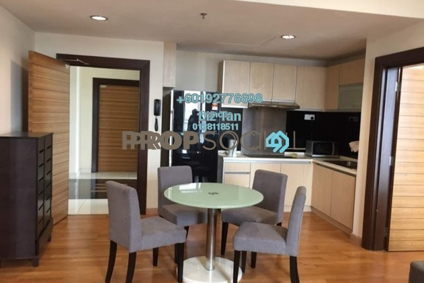 Serviced Residence For Sale in Dua Sentral, Brickfields Freehold Semi Furnished 2R/2B 888k