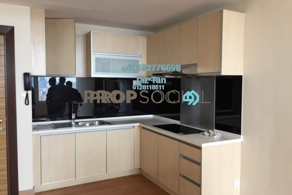 Serviced Residence For Sale in Dua Sentral, Brickfields Freehold Semi Furnished 2R/2B 801k