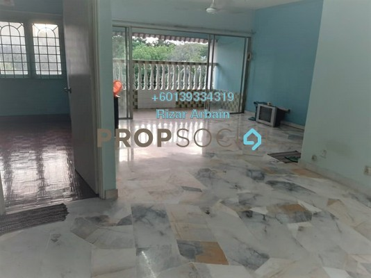 Apartment For Sale in Baiduri Apartment, Desa Pandan Freehold Unfurnished 3R/2B 320k