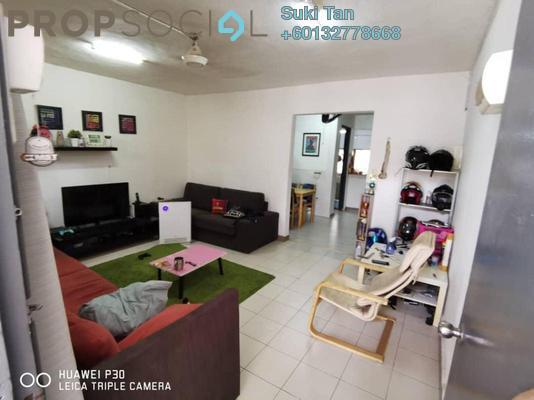Terrace For Sale in Taman Menjalara, Bandar Menjalara Freehold Semi Furnished 3R/2B 518k