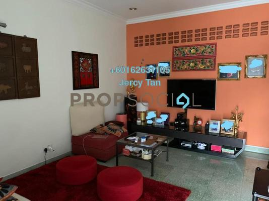 Terrace For Sale in Happy Garden, Old Klang Road Leasehold Semi Furnished 3R/2B 710k