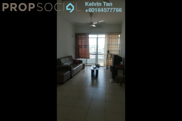 Apartment For Rent in Desa Airmas, Sungai Dua Freehold Semi Furnished 3R/2B 1.2k