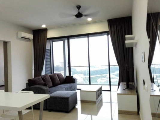 Condominium For Rent in Twin Arkz, Bukit Jalil Freehold Fully Furnished 2R/2B 3.8k