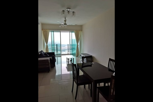 Condominium For Rent in The Zest, Bandar Kinrara Freehold Fully Furnished 3R/2B 1.7k