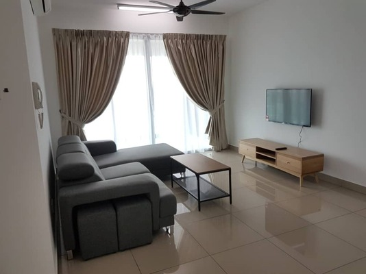 Condominium For Rent in Kiara Residence 2, Bukit Jalil Freehold Fully Furnished 4R/2B 2.5k