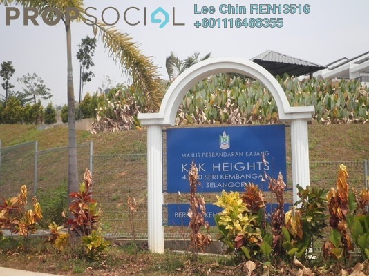 Terrace For Sale in KYK Heights, Balakong Freehold Unfurnished 5R/5B 1.05m