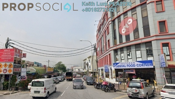 Shop For Sale in Taman Midah, Cheras Freehold Semi Furnished 4R/4B 5.6m
