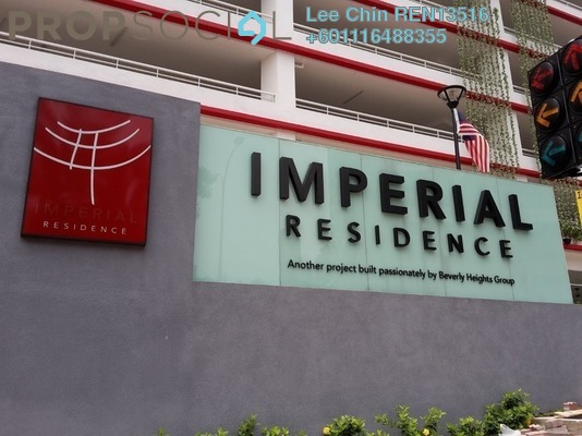 Condominium For Sale in Imperial Residence, Cheras South Freehold Unfurnished 4R/3B 1.03m