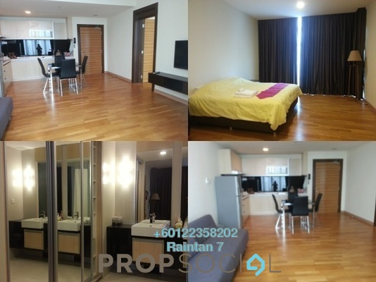 Serviced Residence For Sale in Dua Sentral, Brickfields Freehold Fully Furnished 1R/1B 628k