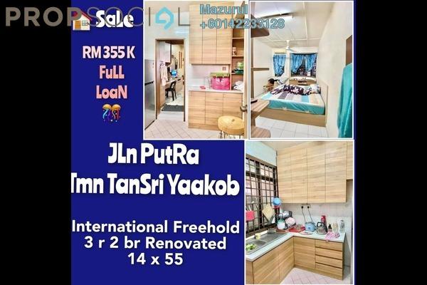 Terrace For Sale in Taman Tan Sri Yaacob, Skudai Freehold Semi Furnished 3R/2B 348k
