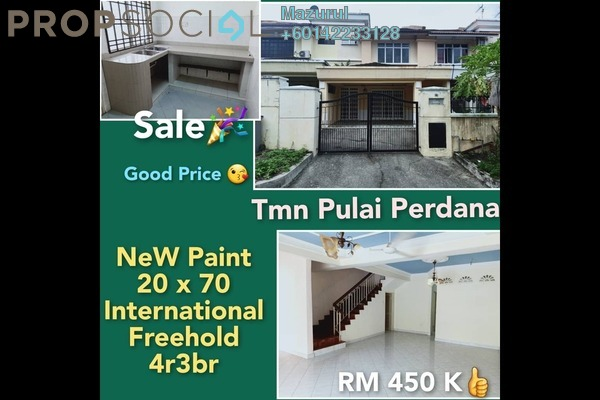 Terrace For Sale in Taman Sri Pulai Perdana 1, Pulai Freehold Unfurnished 4R/3B 450k