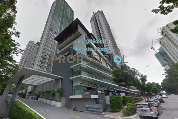 Condominium For Sale in VERVE Suites, Mont Kiara Freehold Fully Furnished 1R/1B 720k