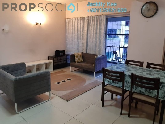 Condominium For Rent in Faber Ria, Taman Desa Freehold Fully Furnished 3R/2B 1.3k