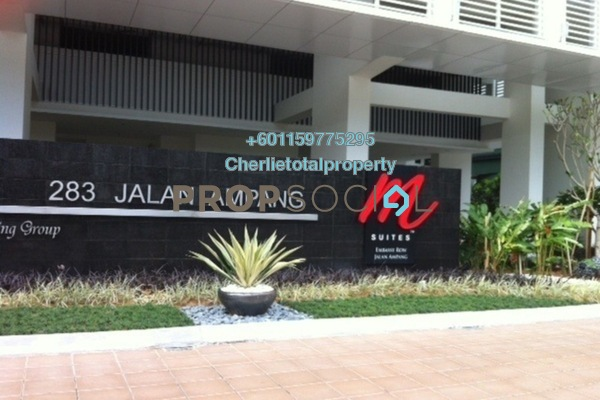 SoHo/Studio For Rent in M Suites, Ampang Hilir Freehold Fully Furnished 1R/1B 1.1k