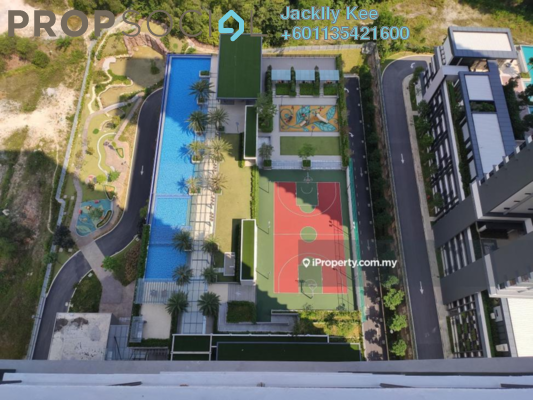 Condominium For Sale in Secoya Residences, Bukit Kerinchi Freehold Semi Furnished 2R/2B 710k