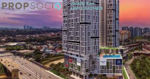 Serviced Residence For Sale in Platinum Arena, Old Klang Road Freehold Semi Furnished 3R/2B 480k