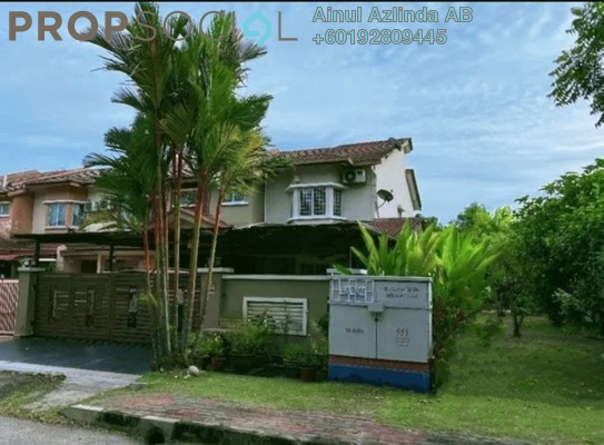 Terrace For Sale in Sri Suria, Bukit Rimau Freehold Semi Furnished 4R/3B 889k