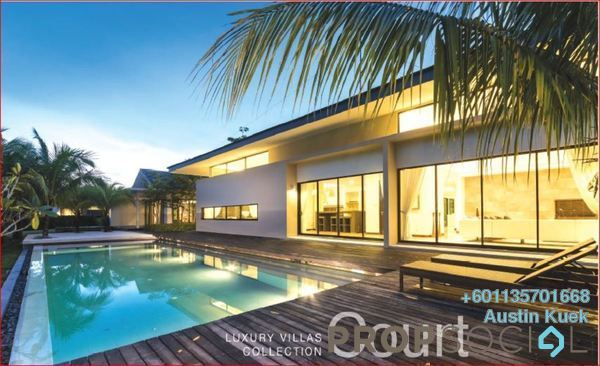 Villa For Sale in Merbok Springs, Leisure Farm Freehold Fully Furnished 4R/4B 13m