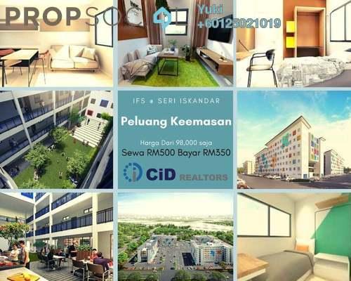Apartment For Sale in Bandar Universiti Seri Iskandar, Bandar Universiti Seri Iskandar Leasehold Fully Furnished 2R/1B 98k