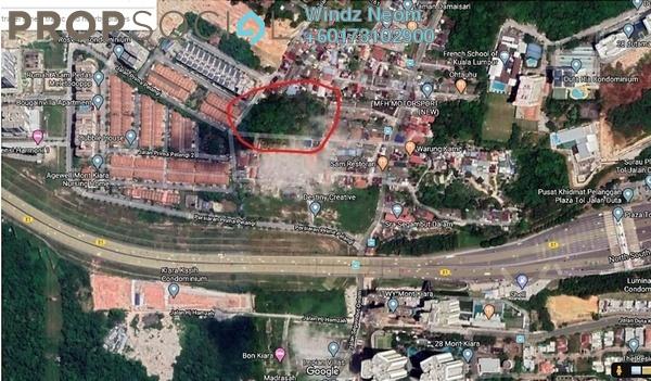 Land For Sale in Kampung Segambut Dalam, Segambut Freehold Unfurnished 0R/0B 20.4m