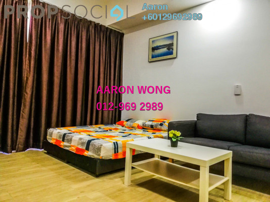 Serviced Residence For Sale in M City, Ampang Hilir Freehold Fully Furnished 1R/1B 550k