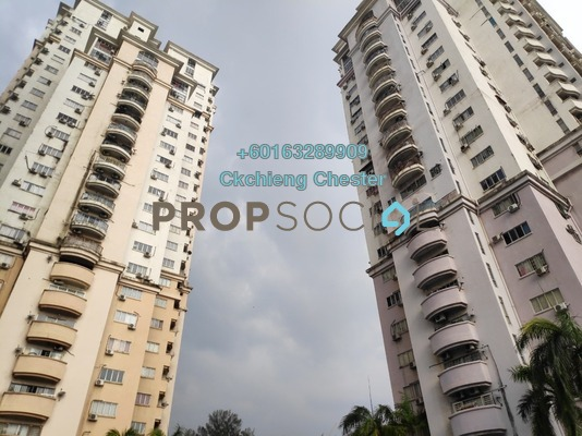 Condominium For Sale in Ridzuan Condominium, Bandar Sunway Freehold Unfurnished 3R/2B 355k