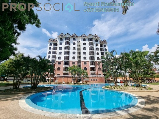 Condominium For Sale in Flora Green, Bandar Sungai Long Freehold Semi Furnished 3R/3B 700k