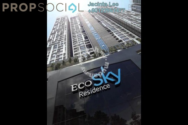 Serviced Residence For Sale in EcoSky, Kuala Lumpur Freehold Semi Furnished 3R/2B 684k