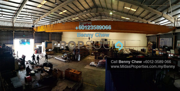 Factory For Sale in Section 26, Shah Alam Freehold Semi Furnished 0R/0B 19m
