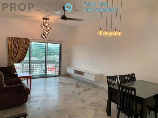 Apartment For Rent in Petaling Indah, Sungai Besi Freehold Semi Furnished 2R/2B 1.2k