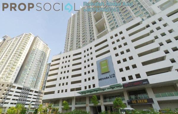 Condominium For Sale in Menara U2, Shah Alam Freehold Fully Furnished 2R/1B 300k