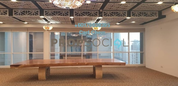 Office For Rent in Binjai 8, KLCC Freehold Fully Furnished 0R/0B 4.05k