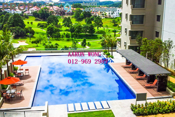 Condominium For Rent in Covillea, Bukit Jalil Freehold Fully Furnished 3R/2B 3k