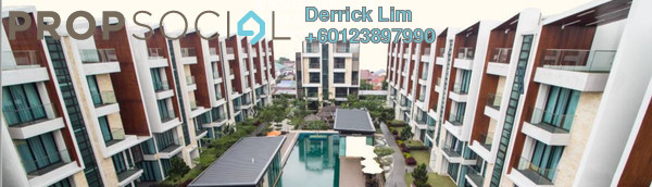 Terrace For Sale in Tropical Villa, Seri Kembangan Freehold Fully Furnished 5R/5B 1.27m