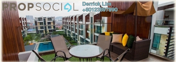 Terrace For Sale in Tropical Villa, Seri Kembangan Freehold Fully Furnished 5R/5B 1.39m