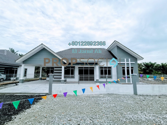 Bungalow For Sale in Taman U Parit Raja, Parit Raja Freehold Unfurnished 4R/2B 435k