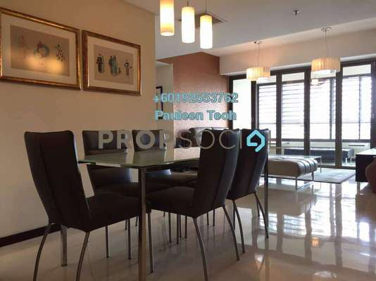 Serviced Residence For Sale in i-Zen Kiara II, Mont Kiara Freehold Fully Furnished 3R/3B 900k