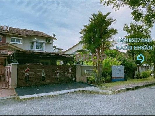 Terrace For Sale in Meranti Terrace, Kota Kemuning Freehold Semi Furnished 3R/4B 889k