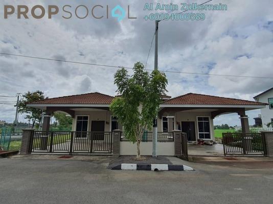 Semi-Detached For Sale in Taman Haji Mokhtar, Kangar Freehold Unfurnished 3R/2B 369k