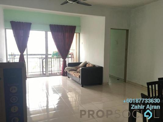 Apartment For Sale in Baiduri Apartment, Desa Pandan Freehold Fully Furnished 3R/2B 335k