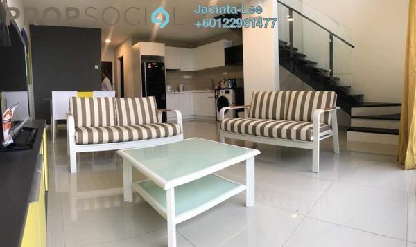 Duplex For Sale in D'Latour, Bandar Sunway Freehold Semi Furnished 3R/2B 576k