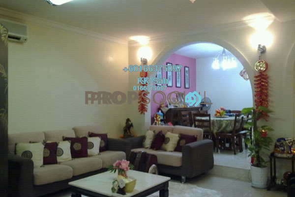 Link For Sale in Taman Taynton View, Cheras Freehold Semi Furnished 8R/3B 938k