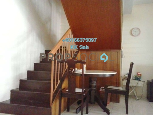 Terrace For Sale in Taman Sri Bahagia, Cheras South Freehold Semi Furnished 3R/2B 480k