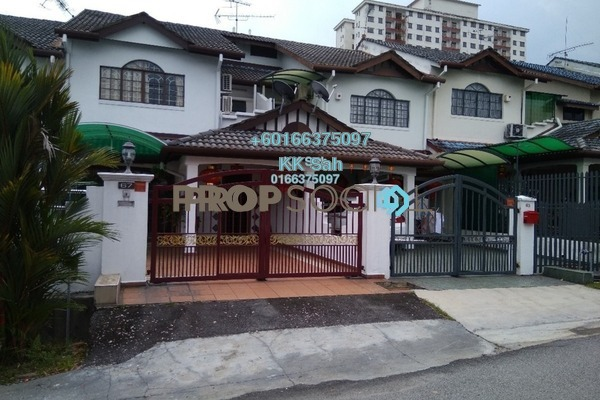 Link For Sale in Taman Sri Bahagia, Cheras South Freehold Semi Furnished 4R/3B 570k
