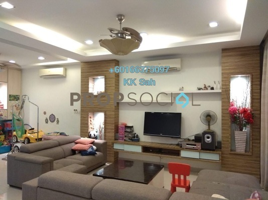 Superlink For Sale in The Peak, Cheras South Freehold Fully Furnished 6R/5B 1.38m