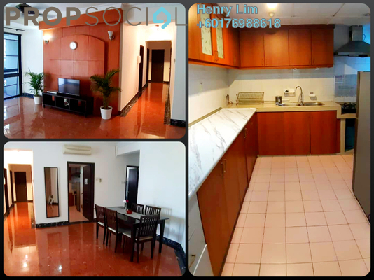 Condominium For Sale in Angkasa Impian 1, Bukit Ceylon Freehold Fully Furnished 3R/3B 730k