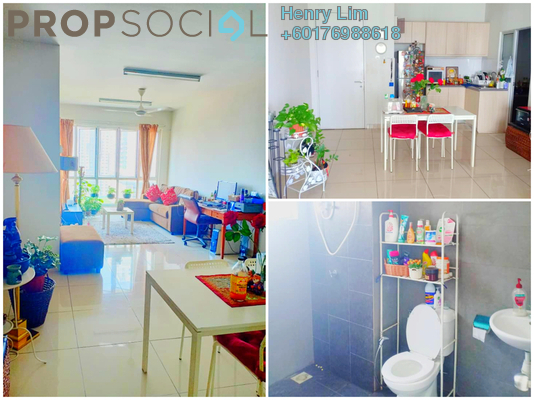 Serviced Residence For Sale in Maxim Citilights, Sentul Freehold Semi Furnished 2R/2B 310k
