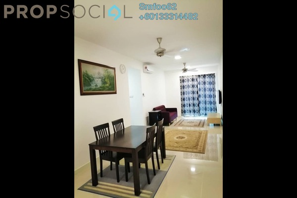 Condominium For Rent in Danau Kota Suite Apartments, Setapak Freehold Fully Furnished 3R/2B 2k