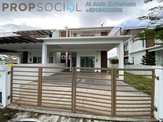 Semi-Detached For Sale in Taman Kucai Indah, Kulim Freehold Unfurnished 3R/3B 465k